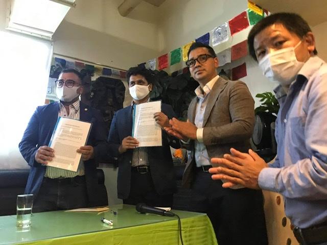 जापानवासी नेपालीको स्वास्थ्य बीमा गर्न एनआरएनए जापान र मिराई लाईफ कम्पनी बीच ऐतिहासिक सम्झौता