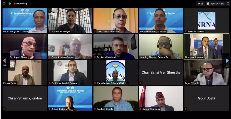 गैरआवासीय नेपाली संघ अमेरिकाज क्षेत्रको दोश्रो क्षेत्रीय बैठक तथा ज्ञान सम्मेलन सम्पन्न