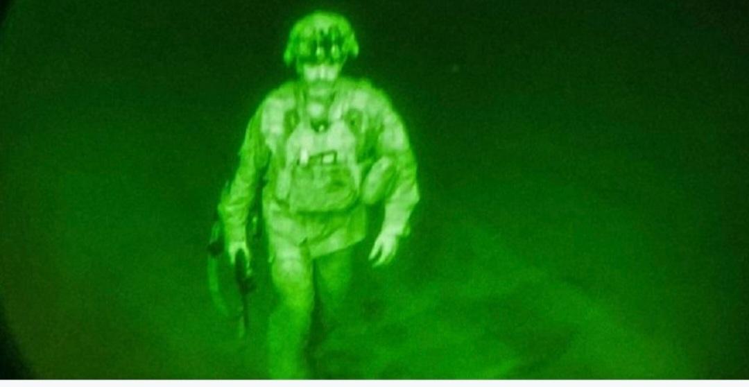 यी हुन् अगानिस्तान छाड्ने अन्तिम अमेरिकी सैनिक