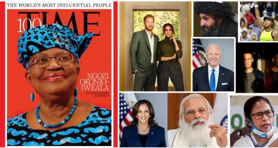 टाइम म्यागजिन १०० प्रभावशाली व्यक्ति : मोदी, ममता, जो बाइडेनदेखि तालिबानका सहसंस्थापक अब्दुल गनी बरादरसम्म