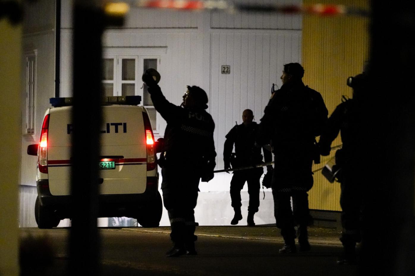 नर्वेमा तीर आक्रमण पाँचको मृत्यु